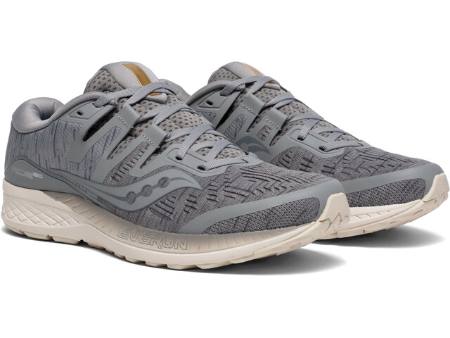 saucony Ride ISO Shoes Men Grey Shade
